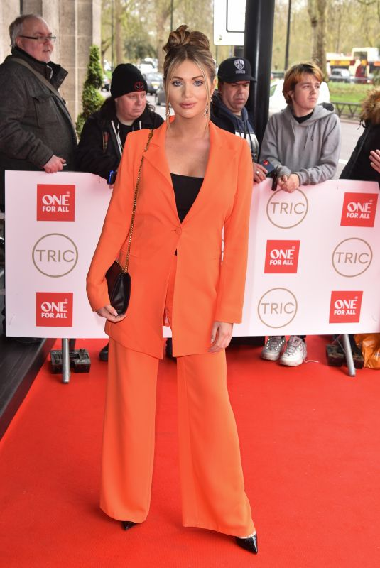 AMY CHILDS at Tric Awards 2020 in London 03/10/2020