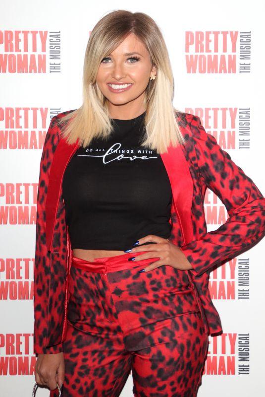 AMY HART at Pretty Woman Press Night in London 03/02/2020