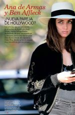 ANA DE ARMAS and Ben Affleck in Love Magazine, March 2020