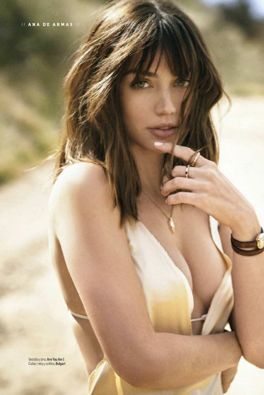 ANA DE ARMAS in GQ Magazine, Mexico April 2018