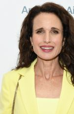 ANDIE MACDOWELL at National Women