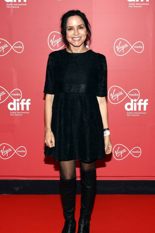 ANDREA CORR at Citizens of Boomtown Premiere at 2020 Dublin International Film Festival 03/03/202 | picture pub