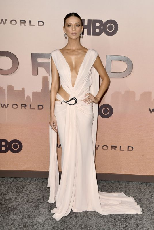ANGELA SARAFYAN at Westworld, Season 3 Premiere in Hollywood 03/05/2020