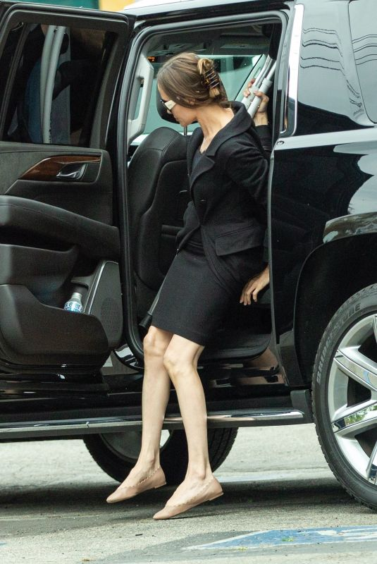 ANGELINA JOLIE Out in Los Angeles 03/09/2020
