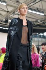 ANJA RUBIK at Valentino Runway Showat Paris Fashion Week 03/01/2020