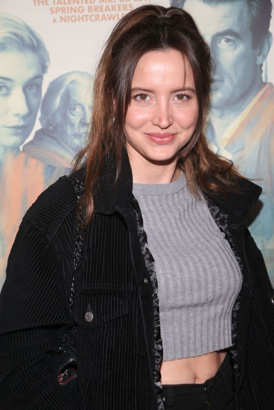 ANNA CLOLS at The Burnt Orange Heresy Screening in Los Angeles 03/02/2020