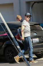 ANNA PAQUIN and Stephen Moyer Out in Los Angeles 03/04/2020