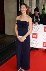 ANNA PASSEY at Tric Awards 2020 in London 03/10/2020