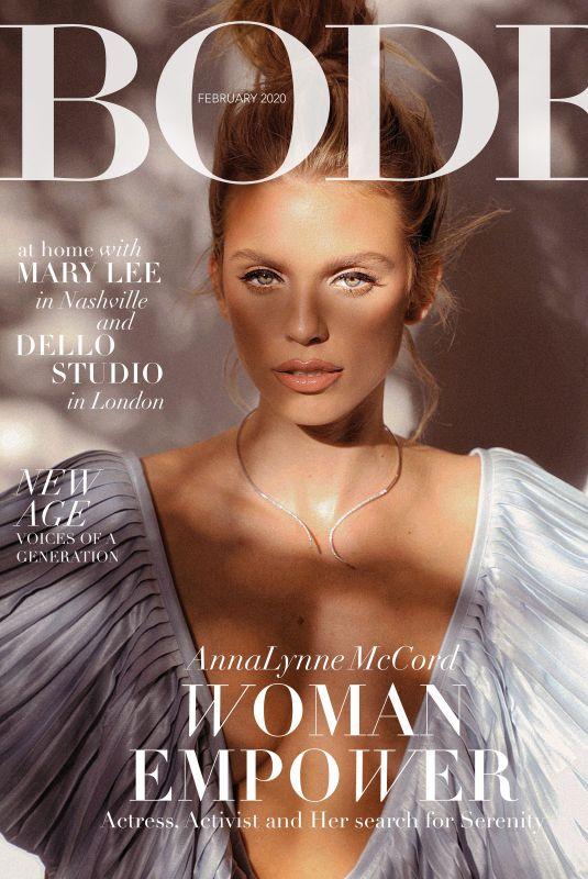 ANNALYNNE MCCOD in Bode Magazine, February 2020