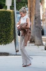 ANNALYNNE MCCORD Arrives at Her Home in Los Angeles 03/01/2020