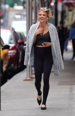 ANNALYNNE MCCORD Out and About in New York 03/10/2020
