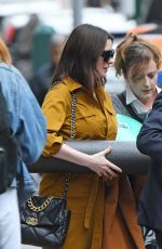 ANNE HATHAWAY Out and About in New York 03/10/2020