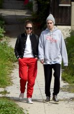 ASHLEY BENSON and CARA DELEVINGNE Out in Los Angeles 03/20/2020