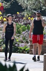 ASHLEY GREENE Leaves a Gym in Beverly Hills 03/05/2020