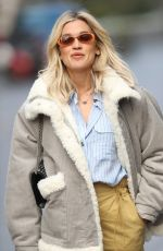 ASHLEY ROBERTS Leaves Heart Radio Show in London 03/31/2020