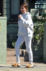 ASHLEY TISDALE Leaves a Restaurant in Los Angeles 03/18/2020