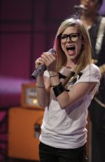 AVRIL LAVIGNE at Tonight Show 03/14/2011