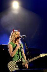 AVRIL LAVIGNE Performs at A Big Rock Day in Bangkok 03/27/2005