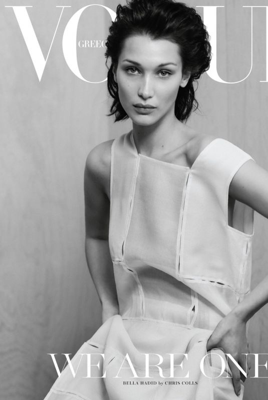 BELLA HADID in Vogue Magazine, Greece April 2020