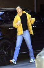BELLA HADID Out Grab Food for Lunch in Los Angeles 03/27/2020