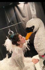 BELLA THORNE in Swan Costume - Instagram Photos 03/20/2020