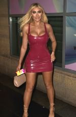 BETHAN KERSHAW, SOPHIE KASAEI and CHLOE FERRY Night Out in Newcastle 02/29/2020