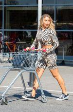 BIANCA GASCOIGNE Shopping at Sainsburys in Gravesend 03/26/2020