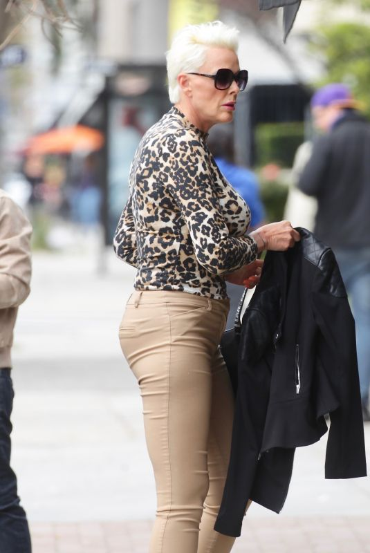 BRIGITTE NIELSEN Out for Lunch in Sherman Oaks 03/09/2020