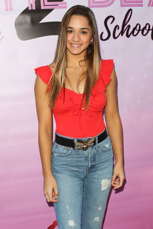 BRISA LALICH at To the Beat! Back 2 School Premiere in Hollywood 03/08/2020