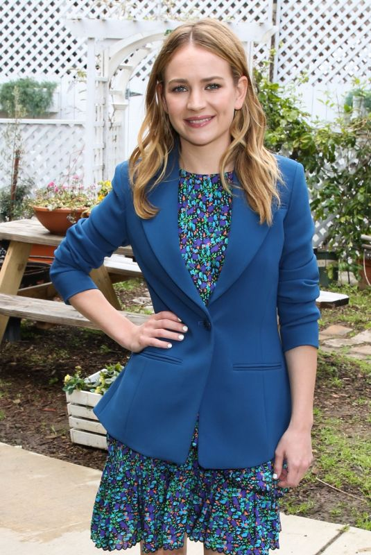 BRITT ROBERTSON at Home & Family at Universal Studios in Hollywood 03/11/2020