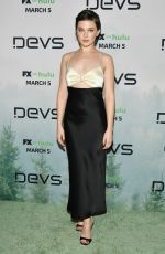 CAILEE SPAENY at Devs Premiere in Hollywood 03/02/2020