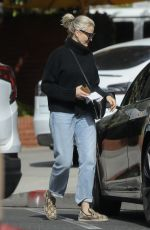 CAMERON DIAZ Gets Parking Ticket Out in Beverly Hills 03/07/2020