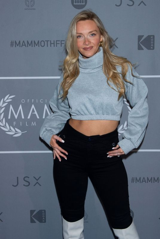 CAMILLE KOSTEK at 3rd Annual Mammoth Film Festival in Mammoth Lakes 03/01/2020