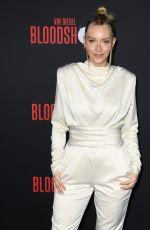 CAMILLE KOSTEK at Bloodshot Premiere in Los Angeles 03/10/2020
