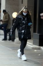 CAPRICE BOURET Wearing Mask Out Shopping in London 03/31/2020