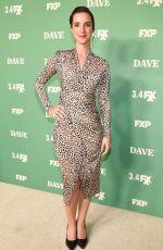 CARLA BARATTA at Dave TV Show Premiere in Los Angeles 02/27/2020
