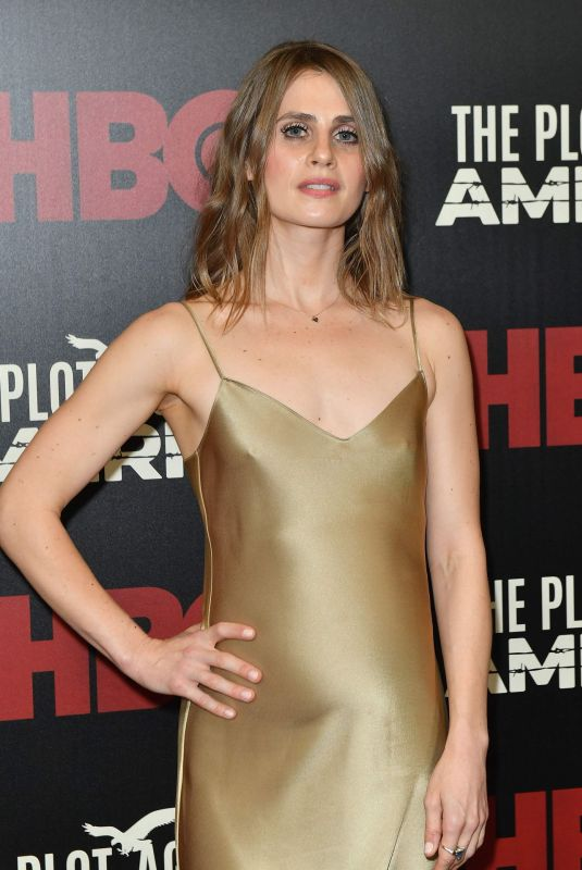 CAROLINE KAPLAN at The Plot Against America Premiere in New York 03/04/2020