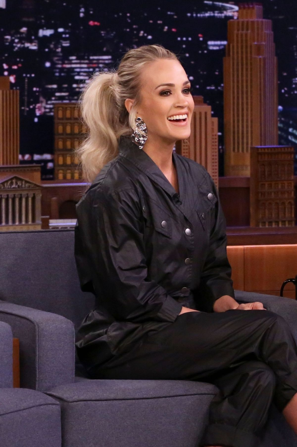 Carrie Underwood At Tonight Show Starring Jimmy Fallon 03 06 2020
