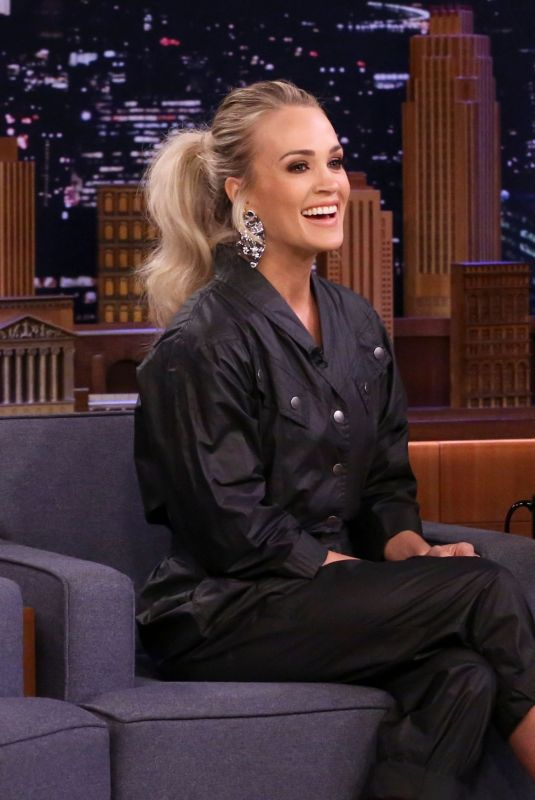 CARRIE UNDERWOOD at Tonight Show Starring Jimmy Fallon 03/06/2020