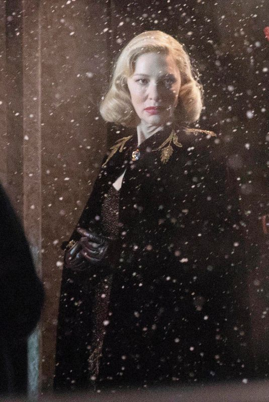 CATE BLANCHETT on the Set of Nightmare Alley in Toronto 01/30/2020