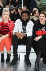 CECILE CASSEL at Chanel Fashion Show in Paris 03/03/2020