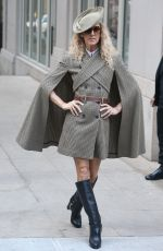 CELINE DION Wears Eric Javits Hat Out and About in New York 03/05/2020