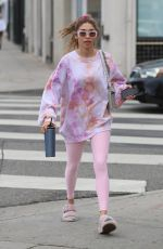 CHANTEL JEFFRIES Leaves Yoga Class in West Hollywood 03/10/2020