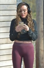 CHARLOTTE CROSBY Out Jogging in Sunderland 03/28/2020