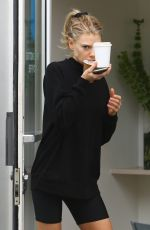 CHARLOTTE MCKINNEY Out for Coffee in Beverly Hills 03/09/2020