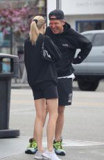 CHARLOTTE MCKINNEY Out in Los Angeles 03/09/2020