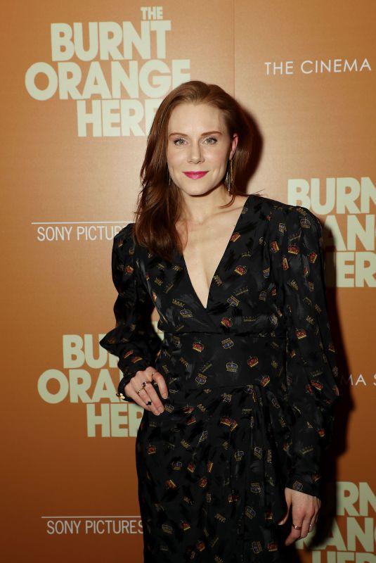 CHRISTIANE SEIDEL at The Burnt Orange Heresy Special Screening in New York 03/05/2020
