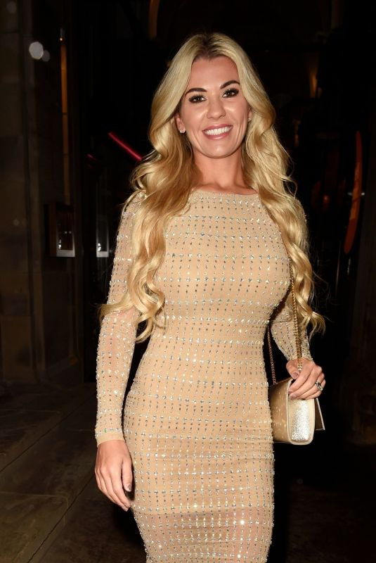 CHRISTINE MCGUINNESS Leaves Peter Street Kitchen in Manchester 03/09/2020