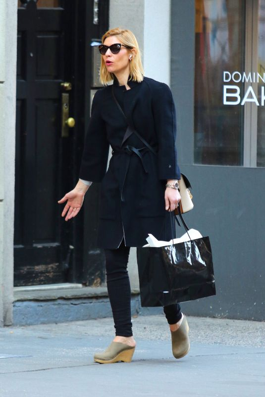 CLAIRE DANES Out Shopping in New York 03/10/2020