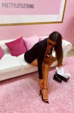 CLAUDIA ROMANI at Prettylittle Things Showroom in Miami 03/09/2020